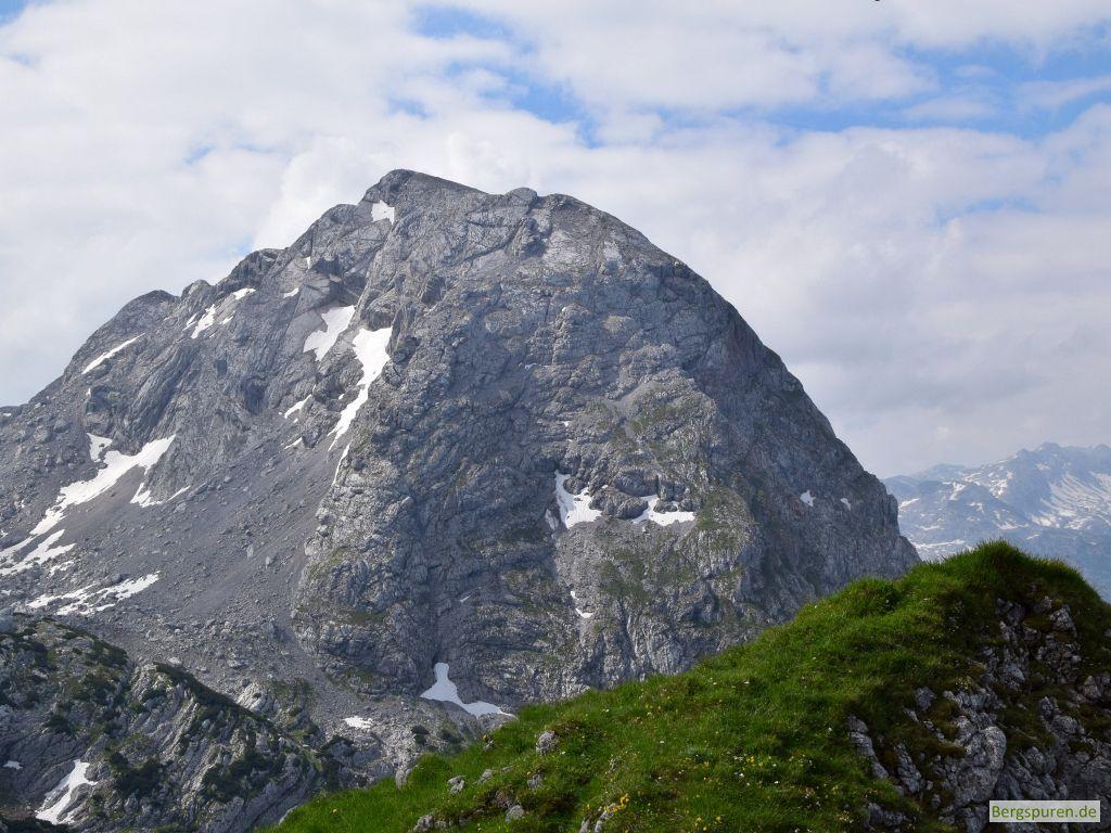 Kahlersberg vom Fagstein-Gipfelrücken gesehen