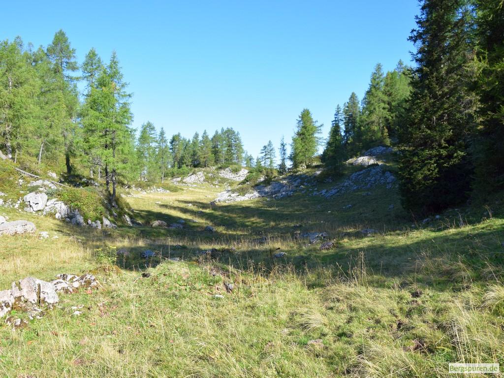 Bärengrube nahe der Gotzenalm