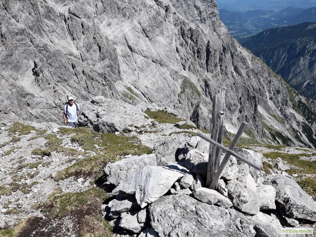 Hinterbergkopf Gipfelkreuz