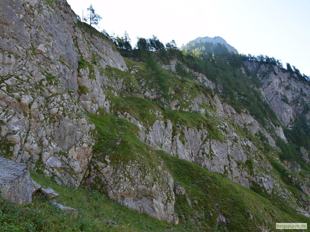 Eisenpfad - Übersicht von unten