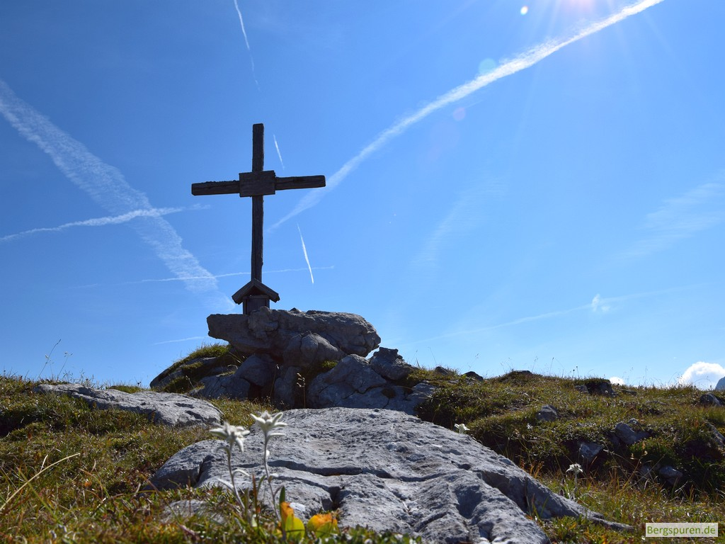 Hochsäul - Gipfelkreuz
