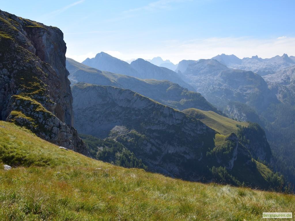 Blick vom Hochsäul auf Hanauerlaub und Teufelshörner