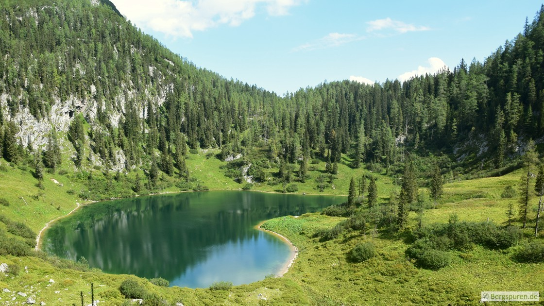 Grünsee in den Berchtesgadener Alpen