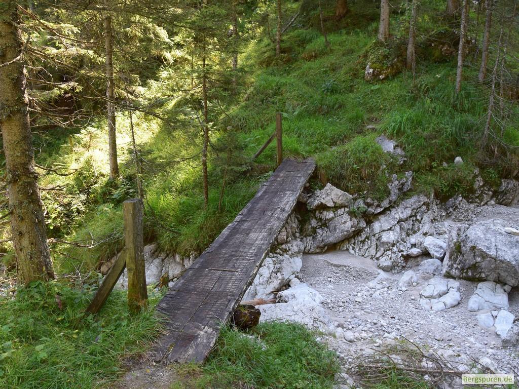 Brücke über den Sittersbach