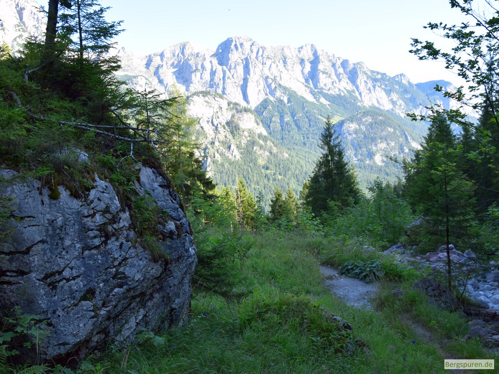 Früherer Standort der Sittersbach-Holzstube