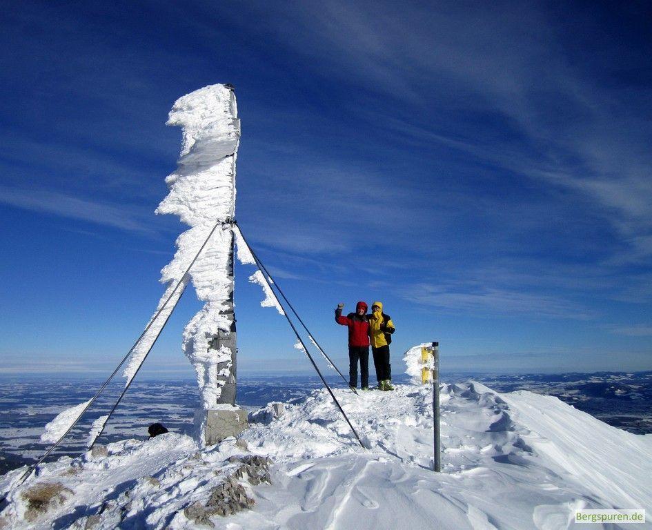 Skitour Gamsknogel: Gipfelfoto