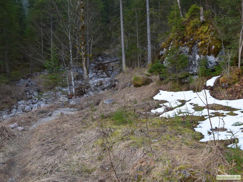 Ehemaliger Standort der Sittersbach-Holzstube
