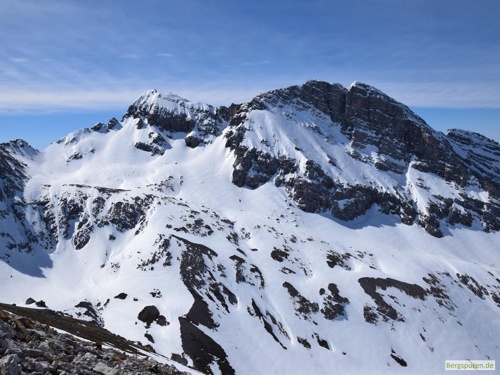 Hocheisspitze und Hinterberghorn