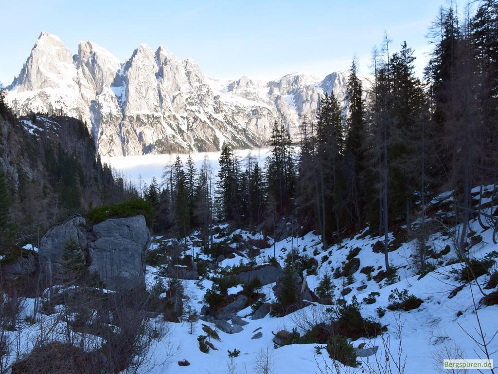 Ramsauer Dolomiten über dem Sittersbachtal