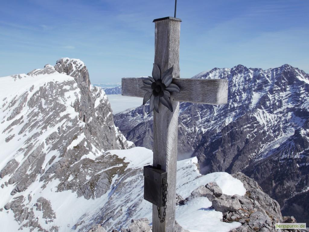 Steintalhörndl - Gipfelkreuz