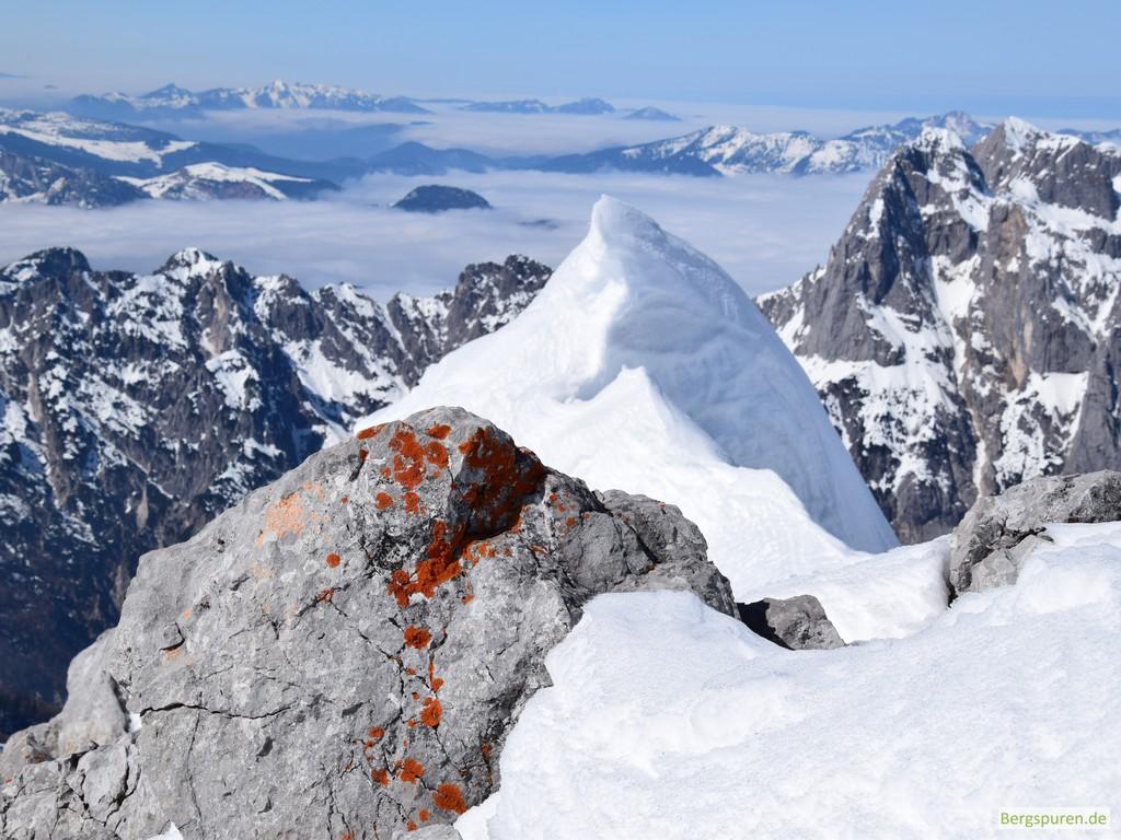Schneegrat am Steintalhörndl