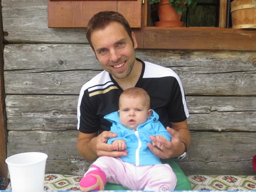 Andreas Neumann mit Tochter Julia