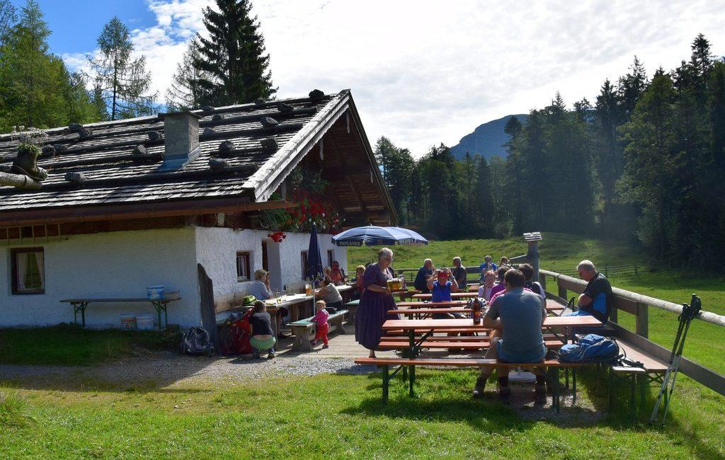 Kraxentour auf die Reiteralm bei Weißbach