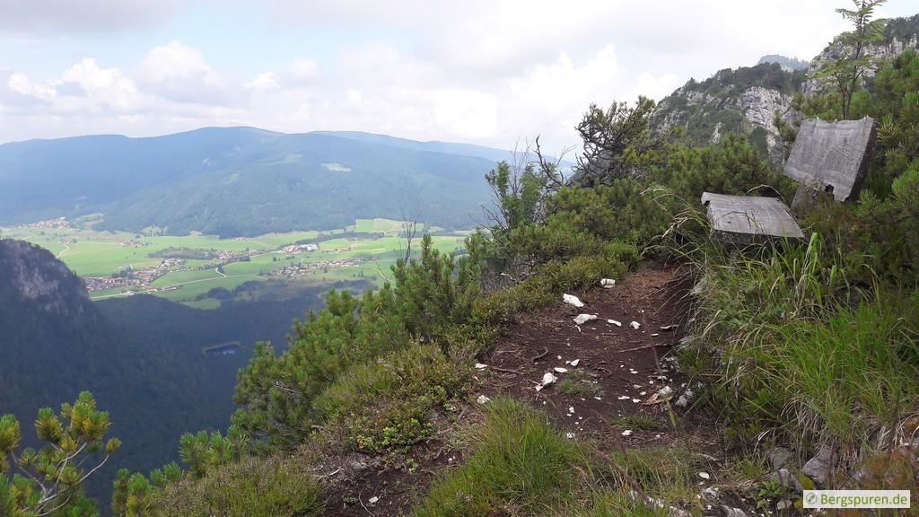 Abstieg vom Gruberhörndl über den Koialuweisteig