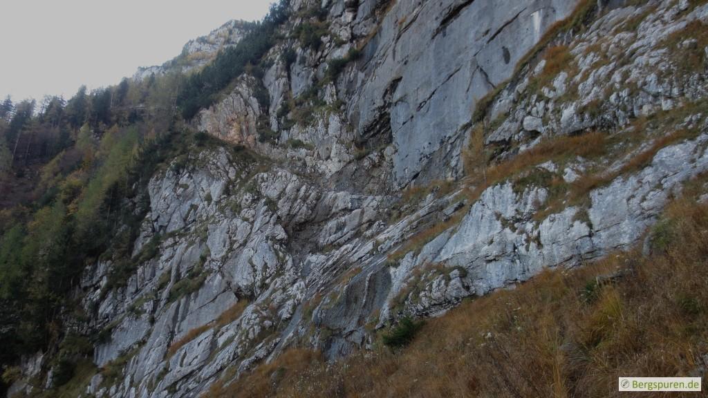 Eisberg über den Eingeschossenen Steig